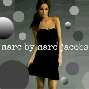 Marc by Marc Jacobs Velvet Cocktail Dress